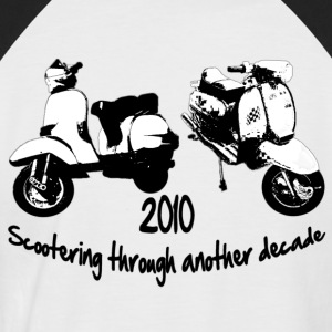 scooter - Men's Baseball T-Shirt
