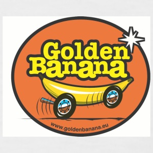 Golden Banana Tribute - T-shirt baseball manches courtes Homme