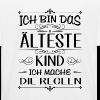 Ich bin das älteste Kind ich mache die Regeln - Kinder Bio-T-Shirt