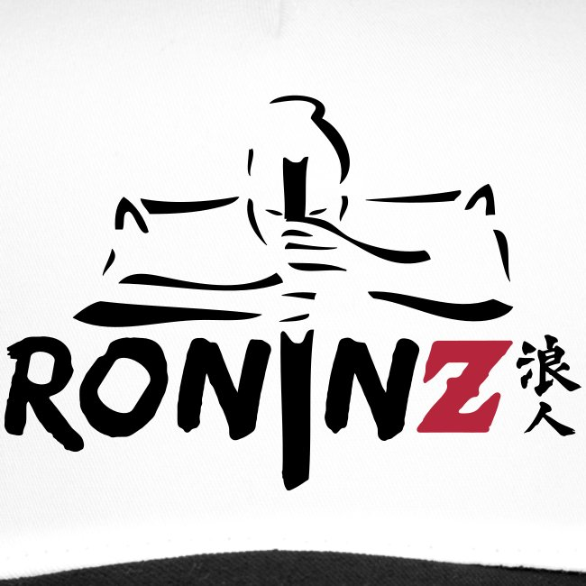 RoninZ Base Cap - white/black