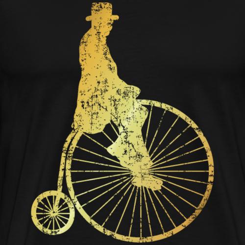 Hochrad Fahrradfahrer (Ancient Gold)
