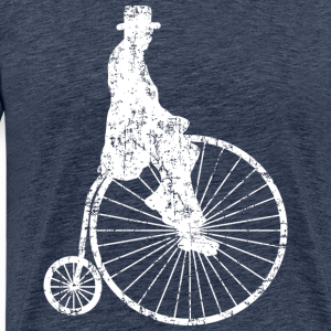 Hochrad Fahrradfahrer (Ancient White)