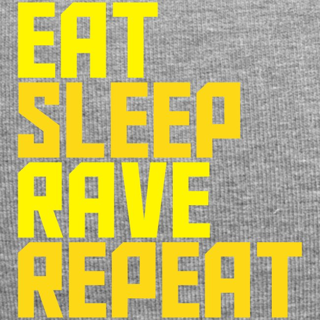 Eat Sleep Rave Repeat Winter Hat Rave Collection