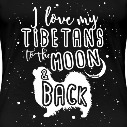 Tibetan Spaniel Moon