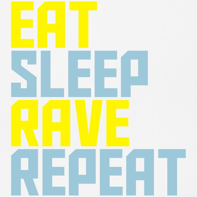 Eat Sleep Rave Repeat Collection Mouse Pad