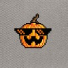 Deal With The Pixel Pumpkin - Snapback Cap