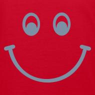 Motiv ~ Smiley (silber) - Kinder Bio T Shirt