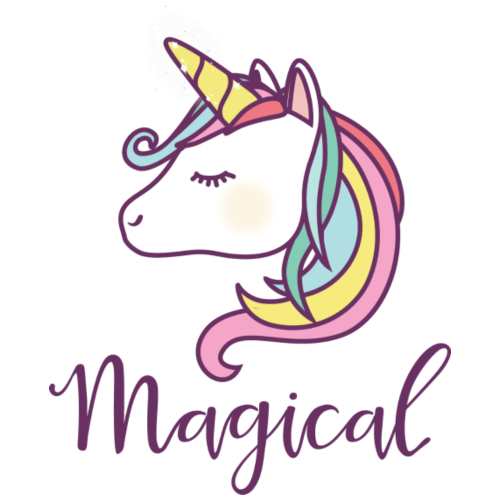 Magical Unicorn - Cute Unicorns, Horses, Rainbow