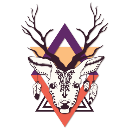Ethnic Deer - Animals, Wildlife, Hipsters, Hunting