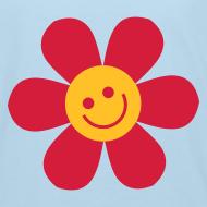 Motiv ~ Happy Flower - Kinder Bio T Shirt