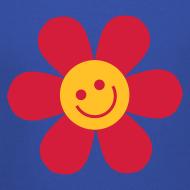 Motiv ~ Happy Flower - Kinder Kapuzenpullover
