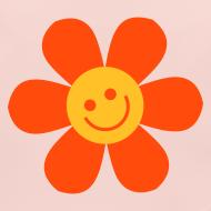 Motiv ~ Happy Flower - Baby Bio Lätzchen