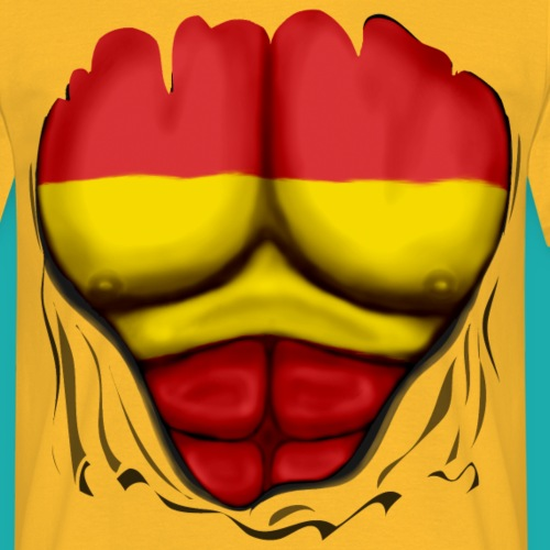 Spain flag muscles