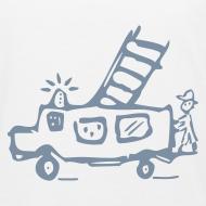 Motiv ~ Feuerwehr (silber) - Kinder Bio T Shirt