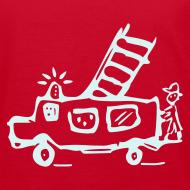 Motiv ~ Feuerwehr (power reflex) - Kinder Bio T Shirt