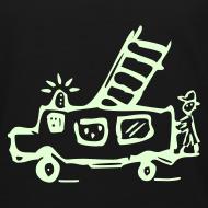 Motiv ~ Feuerwehr (glow in the dark) - Kinder Bio T Shirt