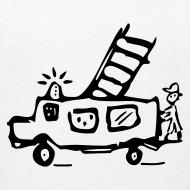 Motiv ~ Feuerwehr - Kinder T Shirt klassisch