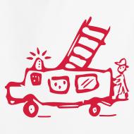 Motiv ~ Feuerwehr - Kinder Kapuzenpullover