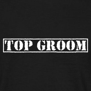 Svart Top Groom T-shirts - T-shirt herr