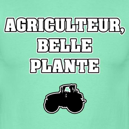 AGRICULTEUR, BELLE PLANTE - JEUX DE MOTS