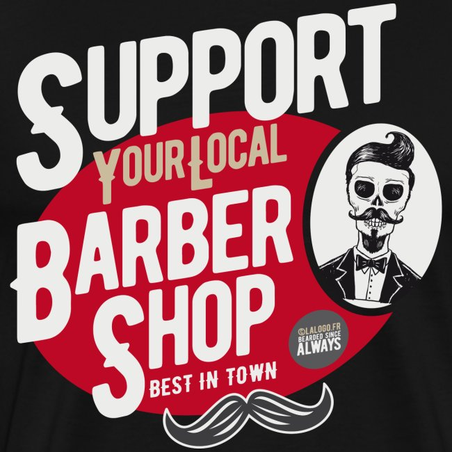Support Your Local Barber Shop 2