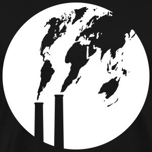 Abgaswolke Welt