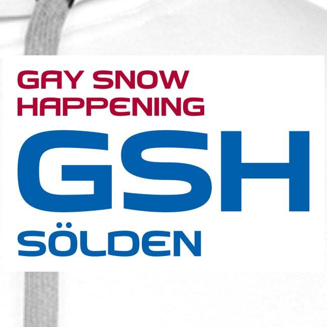 Männer Premium Hoodie GSH Logo vorne