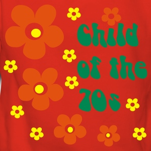 Rot Child of the 70s Pullover - Frauen Premium Hoodie