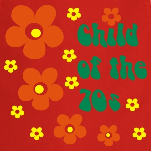 Red Child of the 70s  Aprons - Cooking Apron