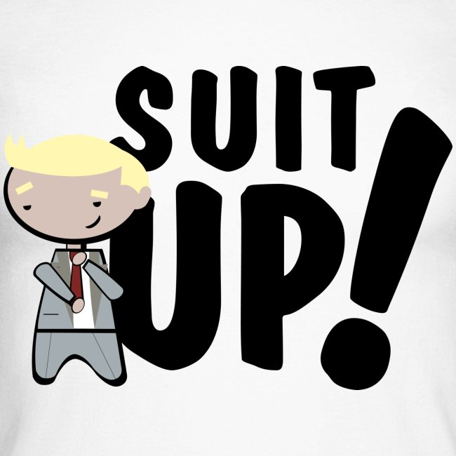Camiseta How I met your mother, Barney Stinson Suit Up - chico manga larga
