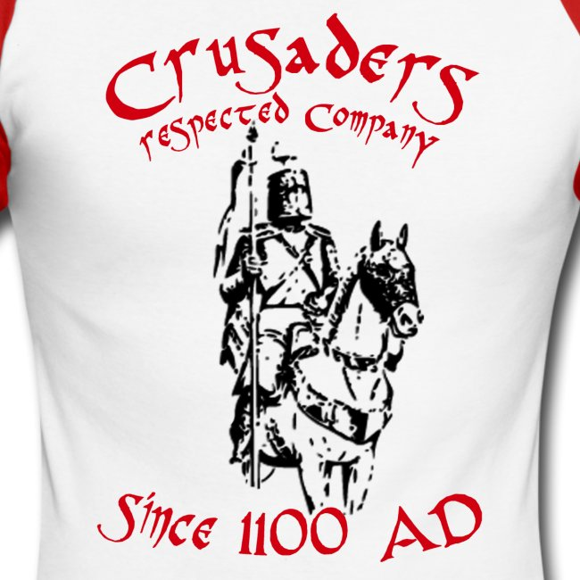 "Männer langärmeliges Baseballshirt ""Crusaders"""