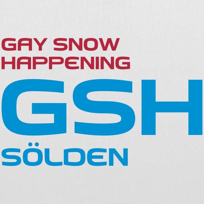 Stoffbeutel GSH logo vorne