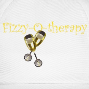 White/white fizzy-o-therapy Caps & Hats - Baseball Cap