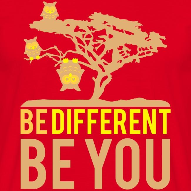 Be Different T-Shirt Men black