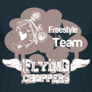 Navy Flying Choppers Freestyle Team Men's T-Shirts - Men's T-Shirt