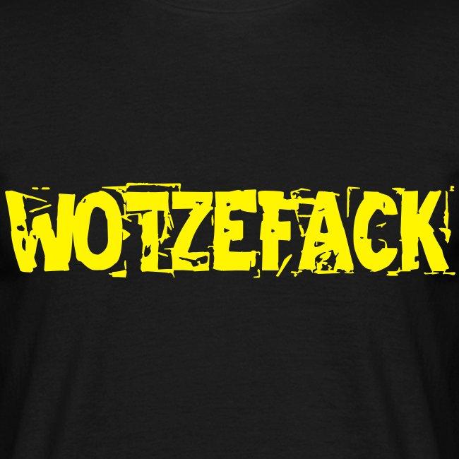 What The F... German Men T-Shirt black