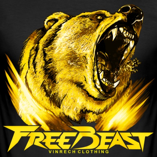 VINRECH CLOTHING - FREE BEAST - Grizzli Gold VIP