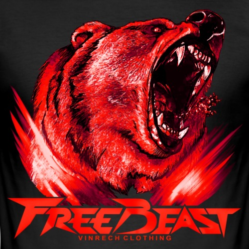 VINRECH CLOTHING - FREE BEAST - Grizzli Red VIP