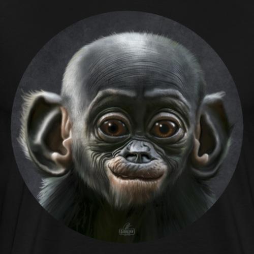 süßes Tierchen Schimpanse