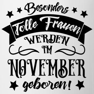 "Geburtstag T-Shirts mit ""Geburtstag Frau November geboren"""