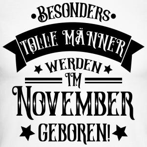 """Geburtstag T-Shirts mit """"Geboren im November Geburtstag Mann"""""""