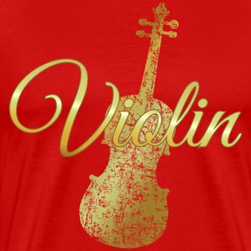 Violin - Violine - Geige (Ancient Gold)