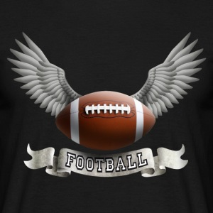 football_wings_a Tee shirts - T-shirt Homme