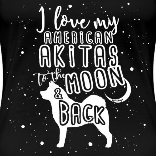 American Akita Moon 2