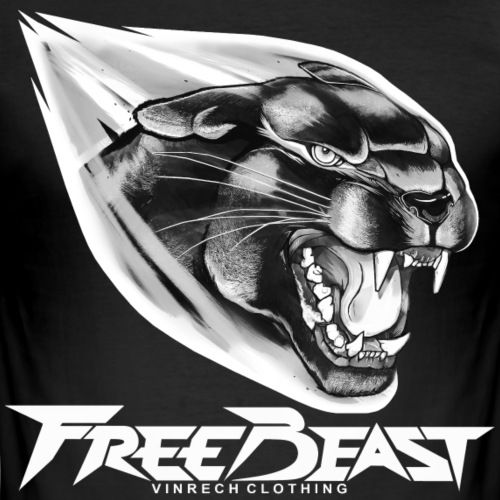VINRECH CLOTHING - FREE BEAST - BLACK PANTHER SIL