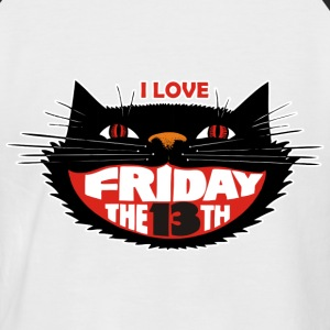 FRIDAY THE 13TH - Männer Baseball-T-Shirt