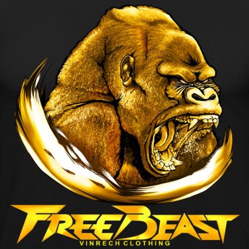 VINRECH CLOTHING - FREE BEAST - GORILLA Gold VIP