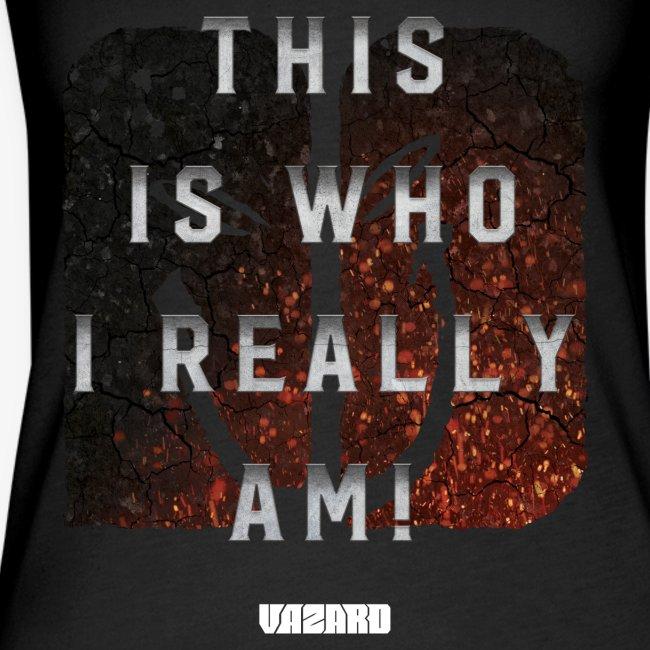 Who I Really Am Tank [Ladies]