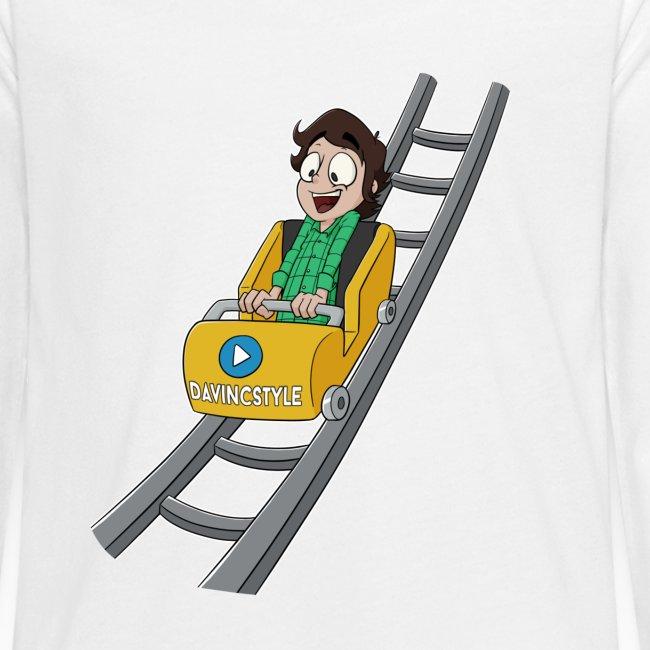 Vincent in achtbaan - Shirt lange bouw (PUBER)
