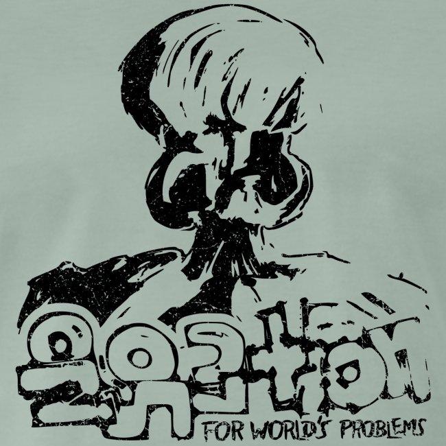 No Solution (black oldstyle)